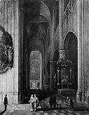Interior of a Gothic Church at Night MET ep71.50.bw.R.jpg