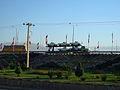 Interlace - end of 17 shahrivar st - flags of Iran-Nishapur 03.JPG