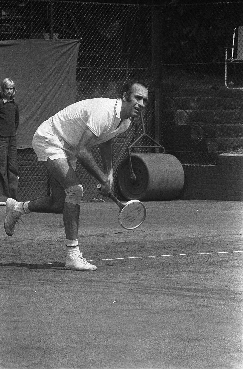 Andrés Gimeno en 1973.