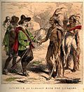Samoset greeting the Pilgrims (1853 depiction)