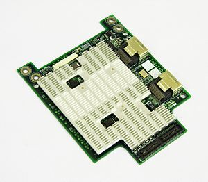Expansion card - A daughterboard for Inventec server platform that acts as a RAID controller based on LSI 1078 chipset