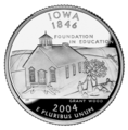 Iowa quarter, reverse side, 2004.png