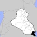 Irak Provinzengrenzen 1991.png