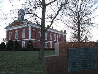 Ironton, Missouri - The Ironton Courthouse