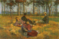 IshiiHakutei-1904-Short Break on Grass.png