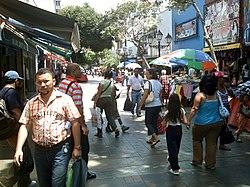 Boulevard Guevara de Porlamar.