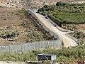 Israel border in Majdal Shams, Golan Heights, 2017 10.jpg