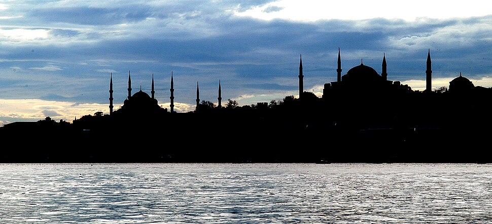 Istanbul siluet