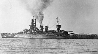 Italian battleship Andrea Doria - Image: Italian battleship Andrea Doria