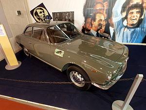 """Alfa Romeo 2000 - 2000 Sprint """"Pantera"""" (Polizia di Stato)."""