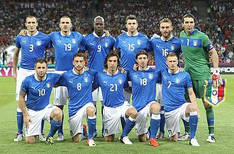 UEFA Euro 2012 Final - Italy's starting line-up in the Final