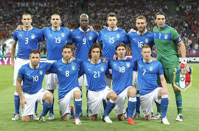Italy national football team Euro 2012 final