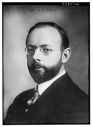 Herbert E. Ives - Ives circa 1913