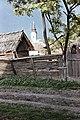 Jászdózsa, Táncsics utca, háttérben a Szent Mihály főangyal templom. Fortepan 58876.jpg