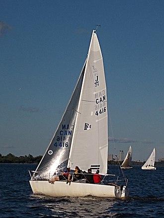 J/24 - Image: J24 sailboat 0925
