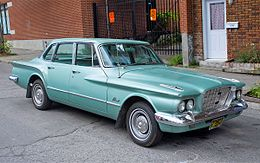 Una Plymouth Valiant del 1960