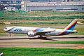JA8977 2 B777-289 JAS Japan Air System HND 11JUL01 (6902681780).jpg