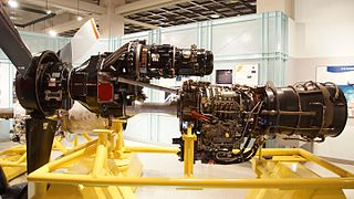 Turboprop turbine engine which powers an aircraft propeller using a reduction gear