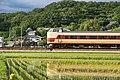 JNR 381 Kounotori limited express on Fukuchiyama Line 2015-06-07.jpg