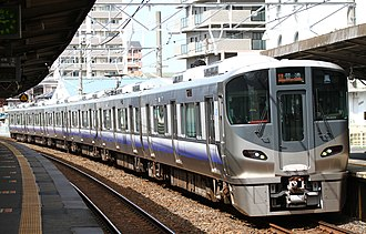 Hanwa Line - Local train (225-5100 series EMU)