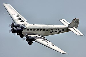 JU52 - Flying Legends 2013 Arrivals Day (9268444007).jpg
