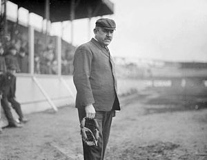 Jack Sheridan (umpire) - Sheridan at South Side Park, 1905.