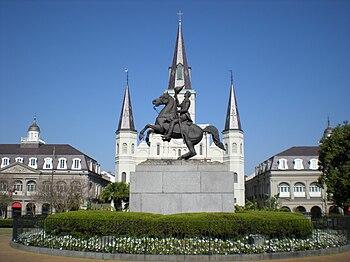 English: Jackson Square - New Orleans