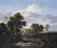 Jacob Isaaksz van Ruisdael - Wooded Landscape with a Stream - 68.298 - Detroit Institute of Arts.jpg
