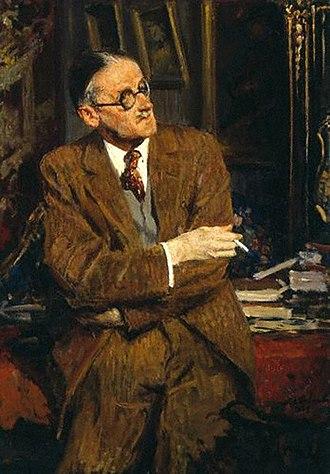 Jacques-Émile Blanche - Image: Jacques Émile Blanche James Joyce