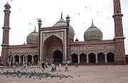The Jama Masjid is one of the largest and most elegant mosques in South Asia.