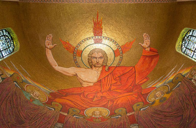File:Jan Henryk Rosen, Christ Pantocrator, Washington, DC.jpg