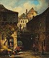 Jan Michiel Ruyten - Romantic depiction of a small-town idyll.jpg