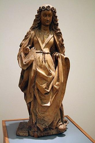 Jan van Steffeswert - Image: Jan van Steffenswert Vrouwelijke heilige