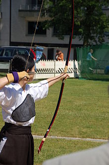 Japan Day Düsseldorf 2009 - 014 - Traditional bow shooting.jpg