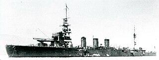 Japanese cruiser <i>Kinu</i>