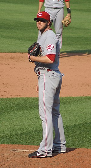 Jared Burton - Image: Jared Burton on the mound in September 2008