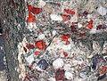 Jasper-quartz pebble conglomerate (Lorrain Formation, Paleoproterozoic, ~2.3 Ga; Ottertail Lake Northeast roadcut, near Bruce Mines, Ontario, Canada) 77 (40743294893).jpg