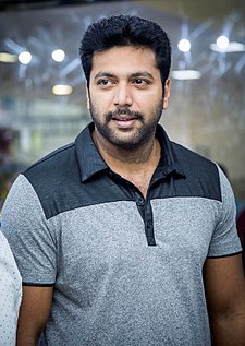 Jayam Ravi at Naya Gadget Shop Launch Event.jpg