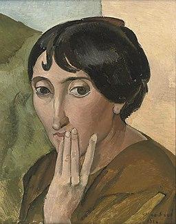 Jean Marchand, La Figure Pensive, c.1914