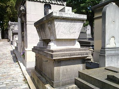 P re lachaise cemetery division 65 wikimedia commons for Chaise baudouin