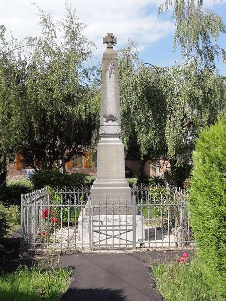 Jeantes (Aisne) monument aux morts