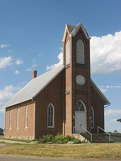 Jefferson Union Church, a historic site in the township