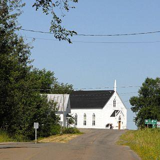 Jemseg, New Brunswick human settlement in Canada