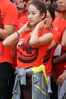 Jeon Hye-ujo ĉe la Nike: Ni Run Seoul 10k, la 2011-an de oktobro