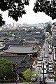 Jeonju Hanok maeul, street view from above.jpg
