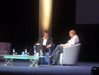 Jeremy Vine - Jeremy Vine interviewing Midge Ure at the 2005 Radio Festival in Edinburgh