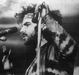 Jerry Rubin - Rubin speaking at the University at Buffalo in March 1970