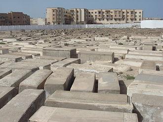 Moroccan Jews - Jewish cemetery, Essaouira