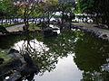Jieshou Park Pond in Evening 20100306a.JPG