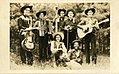 Jimmy and the Ranch Boys, western swing band, autographs on back (NBY 585).jpg